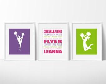 Cheerleading Gift, Cheer Gifts, Gift for Cheerleader, Girls Cheer Bedroom