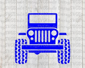 SVG File for Jeep