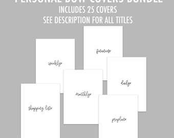 Personal RINGS Bow Cover Bundle - Includes 25 titles