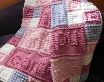WISH pattern for crocheted blanket