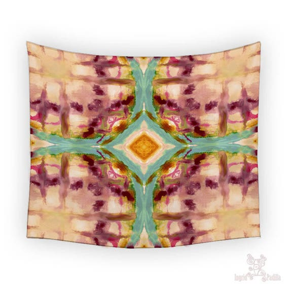 Peace - Tapestry - Artwork by Ingrid Padilla