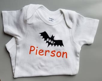 Personalized Halloween Baby Clothes, Halloween Baby, Personalized Baby Clothes, Personalized Baby Gift, First Halloween Baby Clothes, Name