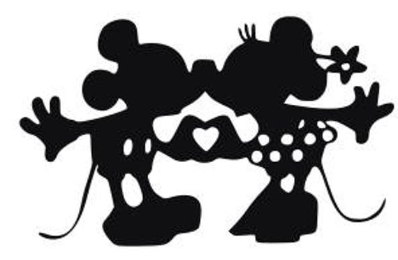 Svg Disney Kissing Mickey And Minnie Kissing Mickey And