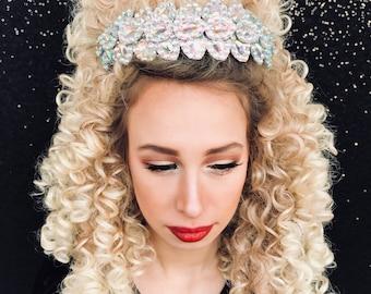 Headband, Tiara, Crown, Irish Dance, made of rhinestones