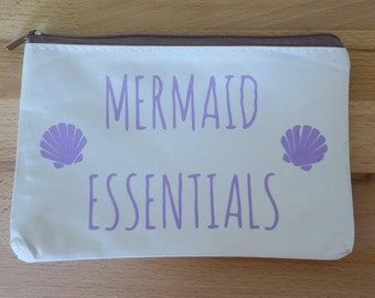 Mermaid Essentials Small Cosmetic Bag
