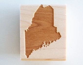 Maine State Rubber Stamp