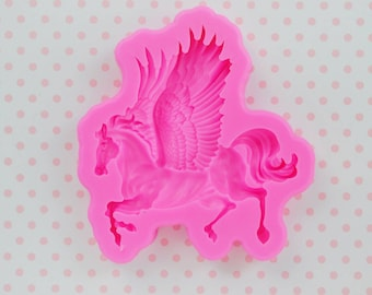 75mm HUGE Pegasus Silicone Resin Mould