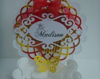 Kit bridge mark places for your wedding theme madras make you