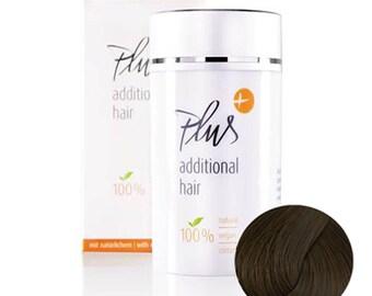 Plus Additional Hair - Medium brown