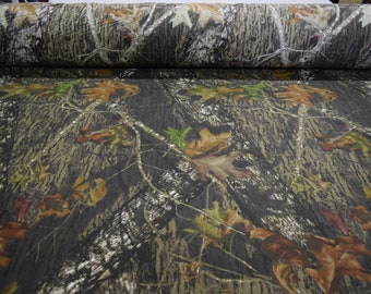 """Mossy Oak New Break Up 100% Cotton Sheeting Hunting Camouflage Fabric 59"""" Wide By The Yard 36"""" Long"""