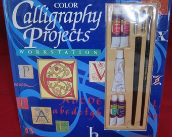 Color Calligraphy Projects Workstation