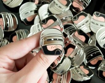 RoboCop Enamel Pin / Lapel Pin / Jewelry / Badge