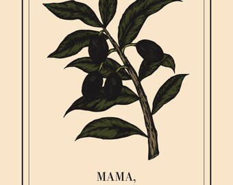 Mother's Day Postcard / Olive Branch