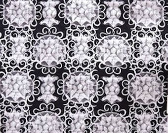 "PWFS023 Free Spirit Design Loft Chiffon Gilted Black White Gray 18"" BTHY Quilt Fabric Westminster Fibers Designer Quilting Sewing Boutique"
