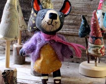 April, the Tasmanian devil, art doll, souvenir of Tasmania