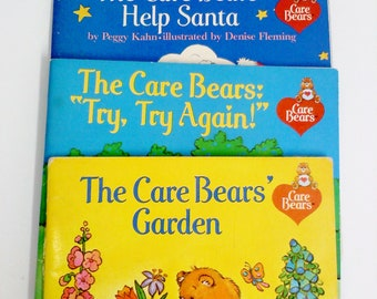 Books- Care Bears Mini Books, Set of 3