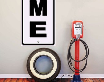 Maine ME State Abbreviation Wall Decal #52619