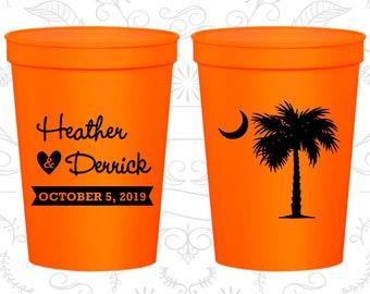 Palmetto Tree, Promotional Stadium Cups, Crescent Moon Cups, South Carolina Palmetto, Palmetto Moon,Palmetto Tree Moon,souvenir cups (77)