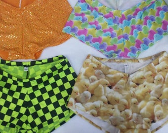 Short and Sweet style roller derby shorts Junior S