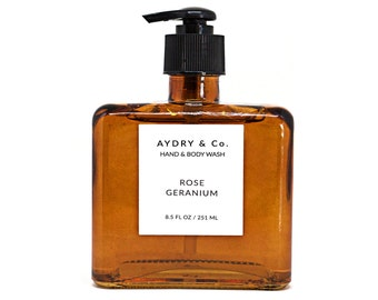 Rose Geranium Hand & Body Wash