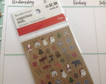 Recollections Christmas Stickers For Planners
