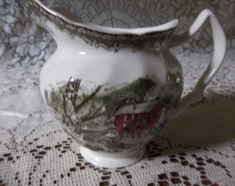 Johnson brothers Friendly Village small pitcher