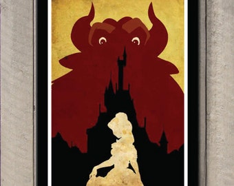 Disney movie poster - Beauty and the Beast