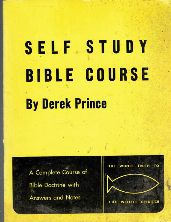 Self Study Bible Course 60 Pages 1969
