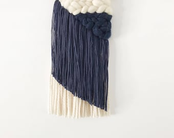 Navy Asymmetrical Weaving