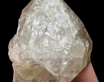 Herkimer Diamond Quartz Crystal Authentic from New York USA H906