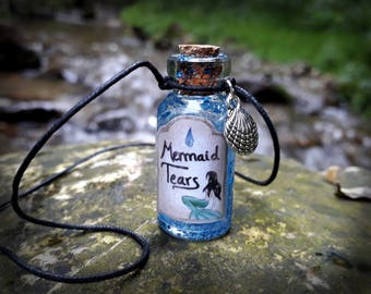 "Necklace ""Mermaid Tears"""
