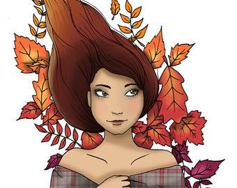 Autumn - A3 Print