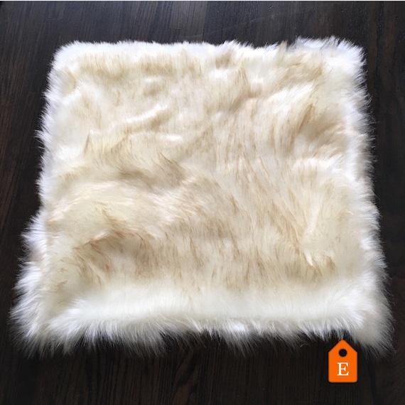 Dog Looks Like A Rug: Dog Mat. Cat Mat. Dog Bed. Cat Bed. Pet Bed. Faux Fur Rug