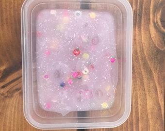 Pink fruit slice slime
