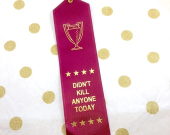 Snarky Gift - Funny Awards - Adulting Award - Ribbon Award - Joke Award - Funny Friend Gift - Funny Encouragement - Funny Coworker Gift
