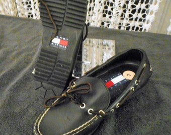 Vintage Classic  Loafer     From The 80's      By TOMMY HILFIGER        Shoes Never Worn