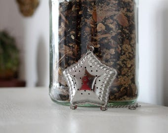 Star Tea Infuser & Tea Gift Set teabelly Organic Artisan Herbal Tea Infusion Tisane