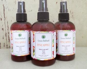 Pineapple Room Spray Mist - Green Daffodil - VEGAN - 4oz - RM