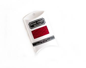 Red Bakers Twine // Solid Red Bakers Twine // 20 Yard Sample (Divine Twine)