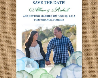 Flower Petals Save the Date Magnets