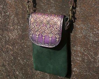 Cellphone case/Mini shoulder/crossbody pouch