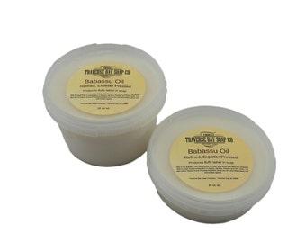 Babassu Oil, 8oz. Raw, Unrefined,  Soap making, lotion,creams, bath, beauty, 8oz, 1/2 pound WEIGHT