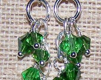 Birthstone earrings, Birthstone jewelry, Mothers jewelry