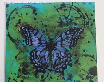 Butterfly Fine Art Greeting