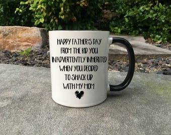 Funny Step Dad Fathers Day Mug, Step Dad mug, Happy Fathers Day mug, Father's day Mug, Mug for Dad, New Dad Gift, Step Dad Gift