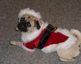 Dog shirt - Santa Coat
