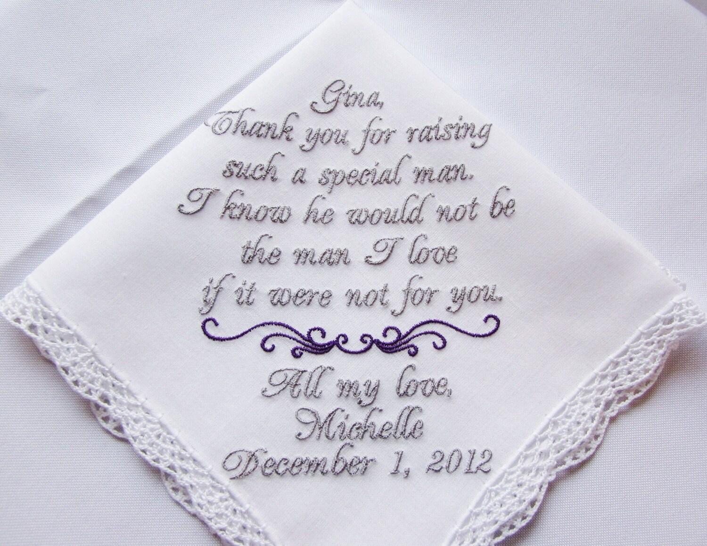 Wedding handkerchief canada