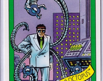 1990 Dr Octopus Marvel Universe Series 1 Card