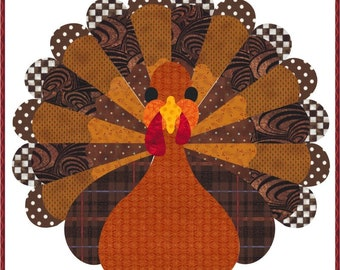 Turkey, an applique block