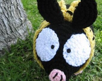 P-chan Plush Crochet Pig